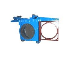 插板阀及眼镜阀-敞开式电动插板