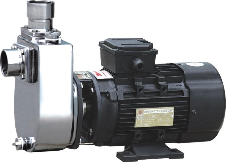 不锈钢自吸排污泵保证正常长期运作的工作条件